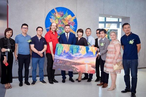 西派维岸艺术中心携瑞士知名艺术家安东尼奥威利启幕巴滨艺术盛典