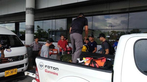Foton Motor tham gia vào nhiệm vụ giải cứu tại Chiang Rai, Thái Lan
