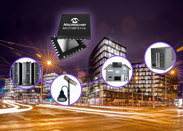 Maximise system performance with Microchip's dual-mode power monitoring IC