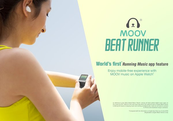MOOV's Beat Runner debuts on Apple Watch Series 3