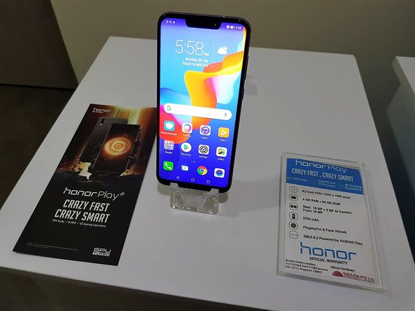 """Honor says """"Game On"""" to Singapore's Gaming Industry with Honor Play at SGD429"""