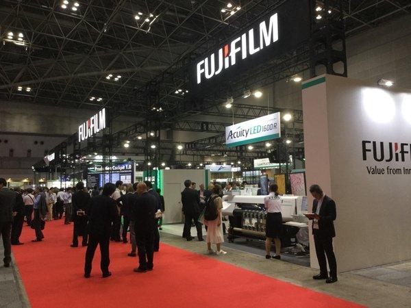 富士胶片亮相日本国际印刷器材展IGAS2018