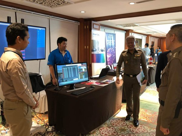 The seminar featured few exhibitors including R V Connex Co., Ltd., Bangkok OA Coms Co., Ltd., Premier Food & Machinery Co., ODS Co., Ltd., and Western Digital(Thailand) Co., Ltd.