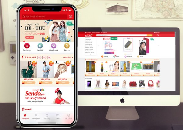 Sendo Technology's online marketplace has benefited from explosive growth in Vietnam's e-commerce market