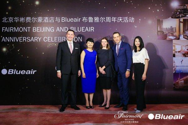 北京华彬费尔蒙酒店携手Blueair升级幸福指数,体验瑞典洁净呼吸