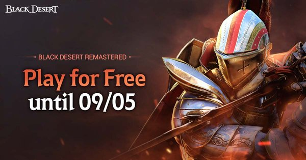 Free Access to Black Desert: Remastered Available for 2 Weeks