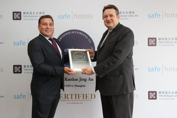 The Kunlun Jing An Attains Executive Certificate from Safehotels