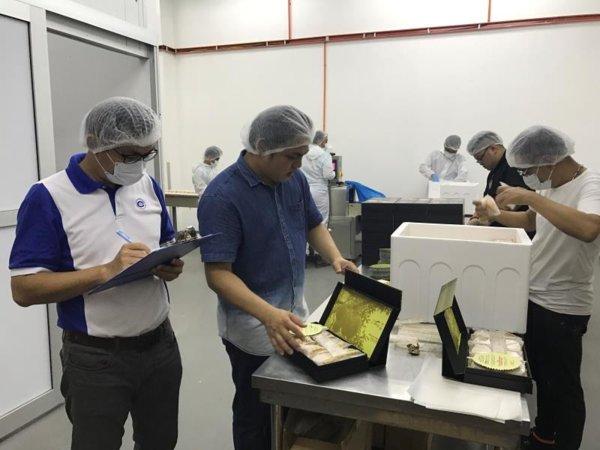 中检溯源华南公司技术团队在境外预检