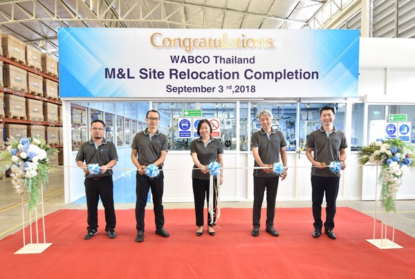 WABCO Inaugurates Advanced Braking Systems Facility in Thailand to Support Rising Demand from Original Equipment Manufacturers