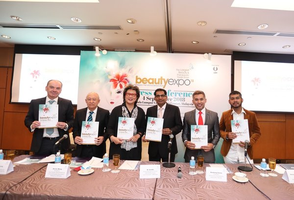 Organiser and supporting associations gather to promote beautyexpo 2018