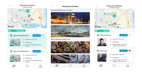 WhereIsWhere, Singapore's first free location-based discovery platform