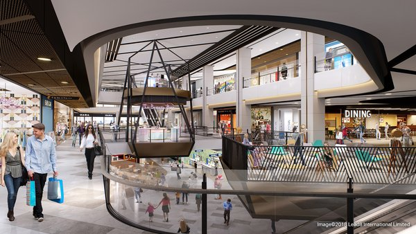 The duplex sculptural feature pod will showcase a creative retail concept with exciting new offerings.