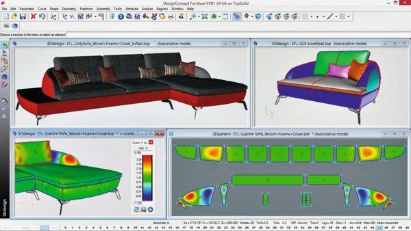 力克DesignConcept 3D助力桦桐家私从OEM向ODM转型升级