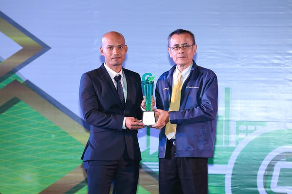 USG Boral Thailand (also known as Siam Gypsum) wins Green Industry Award for being an environmentally-friendly business