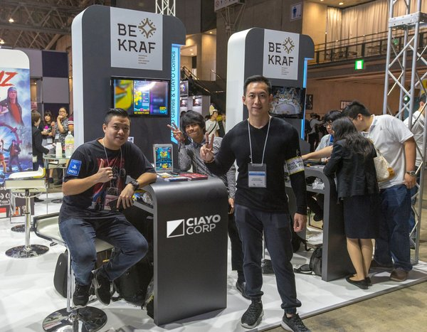 CIAYO Comics Popularizes Local IP to Japan in Tokyo Game Show 2018