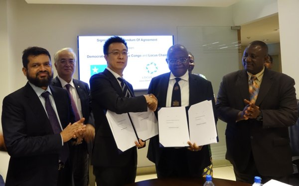 SangYoon Lee, Chairman of Locus Chain Foundation, signed a strategic alliance agreement with Theore Mugalu, Senior Secretary of the Democratic Republic of the Congo