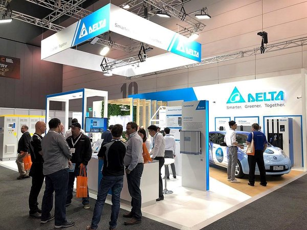 Delta showcases renewable energy and EV charging solutions at All Energy Australia 2018