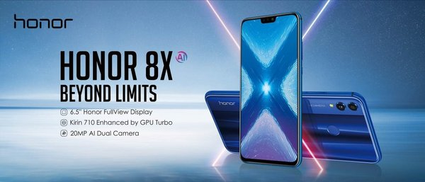 Produk KV Honor 8X