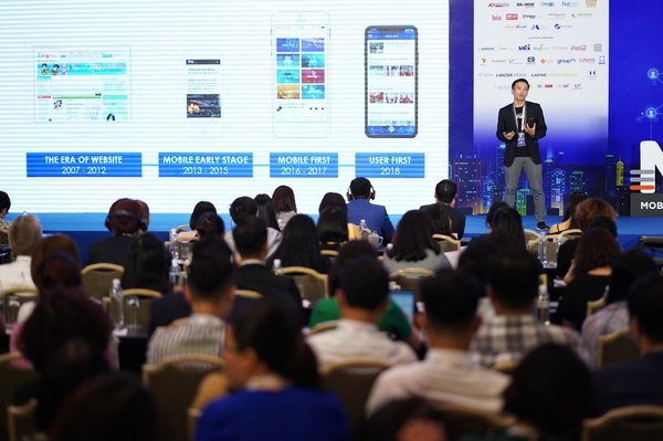 Mr. Nguyen Anh Tuan - CEO of Adtima gave speech at the CEO CMO Summit Vietnam (September 28th 2018)
