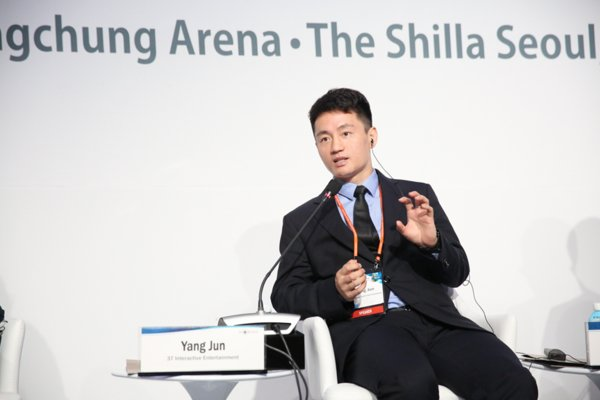 Yang Jun, Senior Vice President of 37 Interactive Entertainment