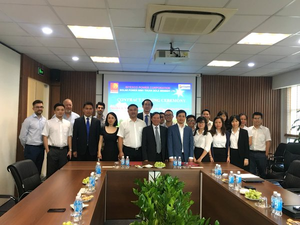 Risen Energy wins contract for 50MW PV project from Bitexco Group's subsidiary
