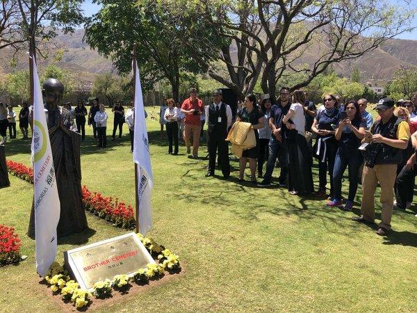"""福寿园与玻利维亚记忆公园""""友好公墓""""揭牌仪式在玻利维亚举行"""