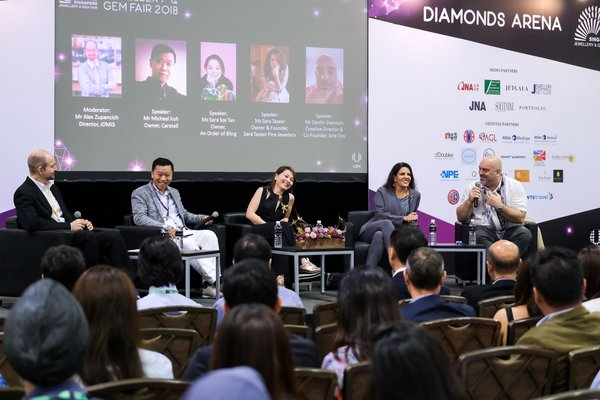 Singapore Jewellery & Gem Fair: A Festival of Jewellery Design and Artistry