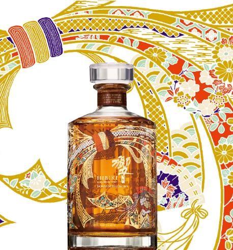 """宾三得利烈酒集团首次呈现""""响""""和风醇韵调和威士忌特别设计瓶"""