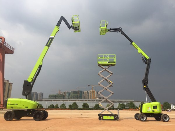 Zoomlion to Launch Eight New Aerial Construction Platforms