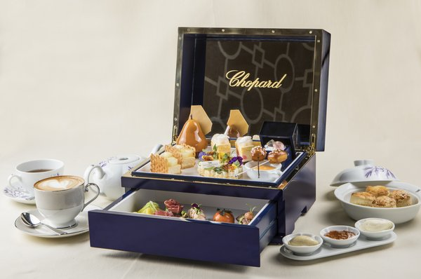Waldorf Astoria Beijing, in Partnership with Chopard, Presents Romantic Jewelry Themed Afternoon Tea