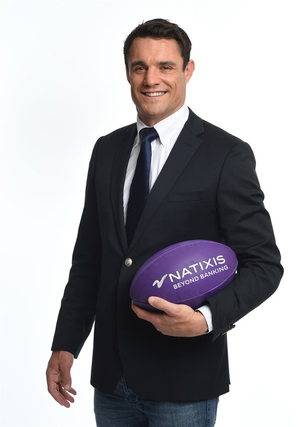 Dan Carter appointed brand ambassador for Natixis in Asia Pacific