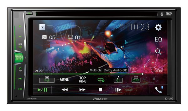 New Pioneer AVH-A215BT A-Series Multimedia Receiver