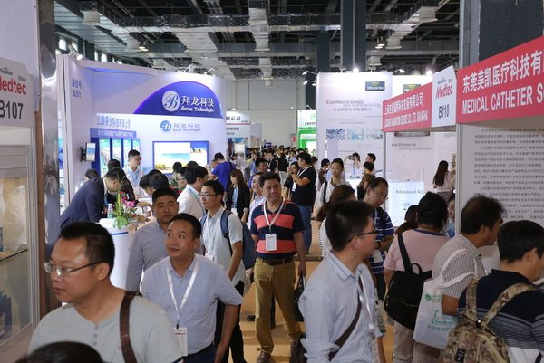 Medtec China 2018 was successfully held in Shanghai this past September; 90% of the booths for next year have been booked