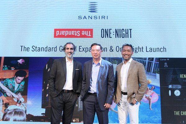 Sansiri strengthens its global vision by driving The Standard's aggressive international expansion of an additional 15 hotels in 5 years and the launch of One Night app in Asia