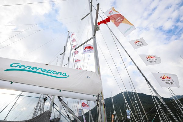 The Generations sets sail at China Cup International Regatta 2018