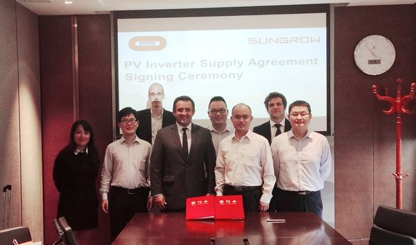 Sungrow partners with Bouygues to support a 201 MW PV plant in Vietnam