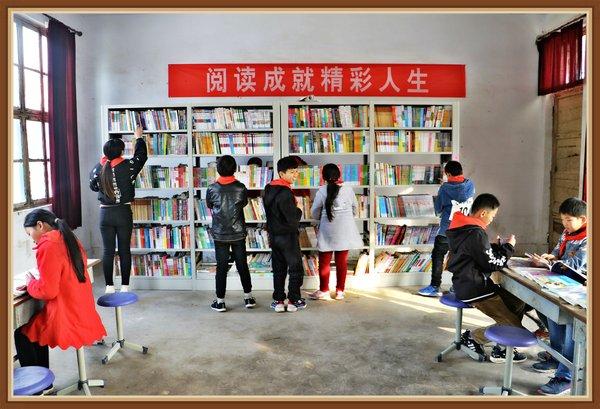 """长城人寿""""萌芽100""""全国第130座爱心图书室落地河南濮阳"""