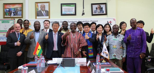 KT Partners with Ghana Gov't for Epidemic Preparedness