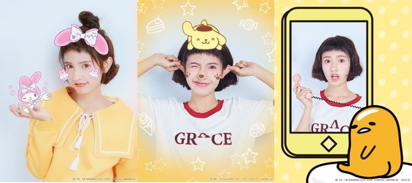 My Melody: The Cutest (Left) Pompompurin: Kids' Favorite (Middle) Gudetama: The Lazy Egg (Right)