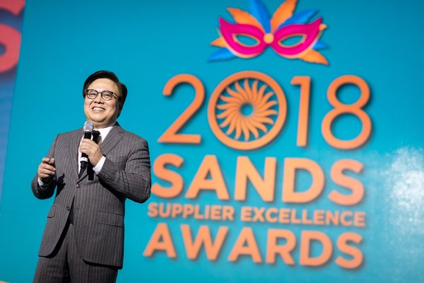 Sands China Recognises Exceptional Suppliers at Sixth Annual Sands Supplier Excellence Awards