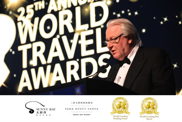 "Sanya Sunny Bay Wins World Travel Awards' ""World's Leading Wedding Venue 2018"" & ""World's Leading Dive Resort 2018"""