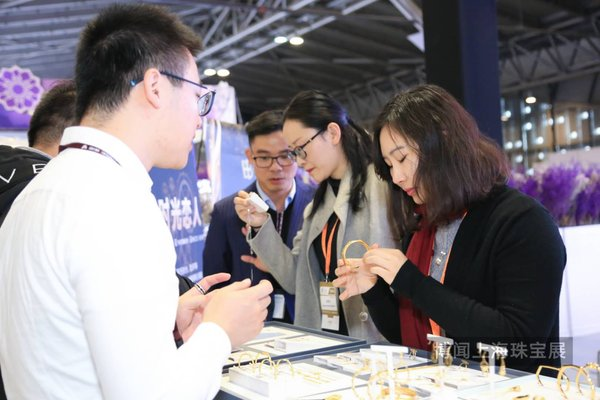 Business Discussion of China International Gold, Jewellery & Gem Fair - Shanghai