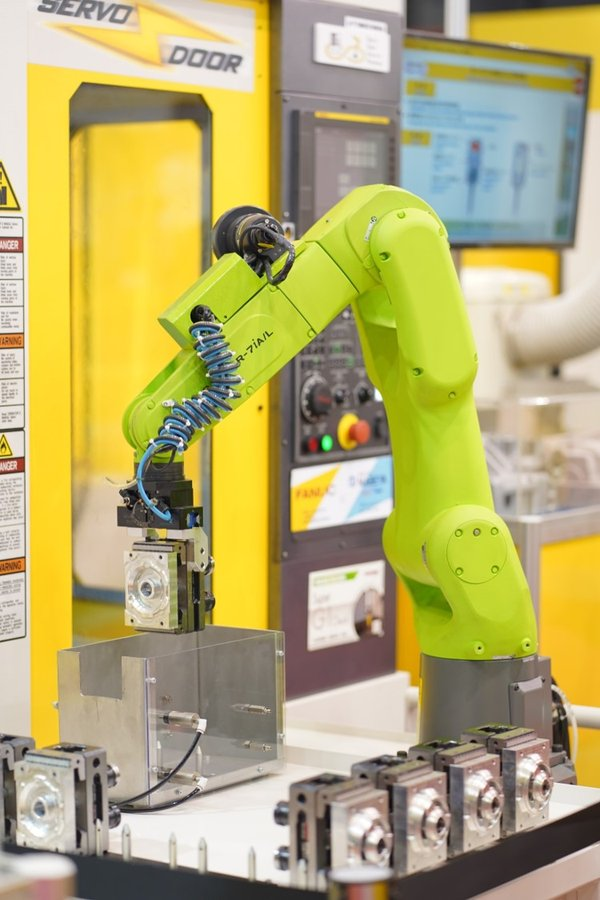 Smart machines for the future of manufacturing.