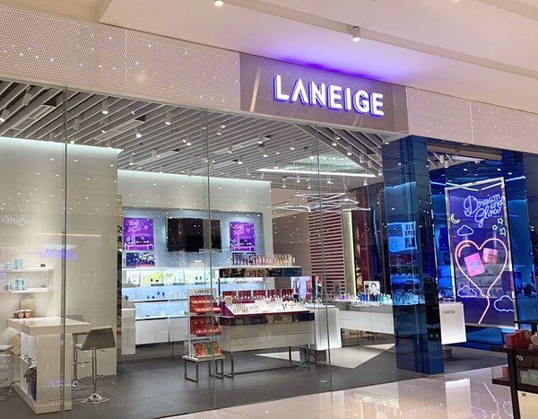 Laneige Store in Manila, the Philippines