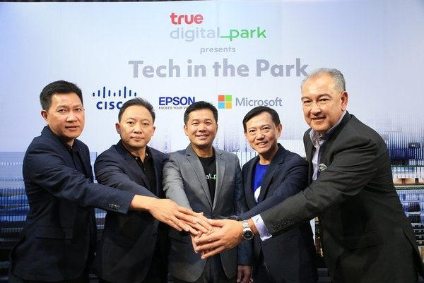 True Digital Park Joins Forces with 4 Global IT Partners, Offering Cutting-Edge Innovation to Support Tech-Based Workforce and Digital City Lifestyle in Southeast Asia