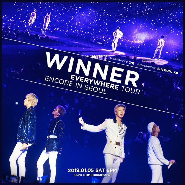 WINNER EVERYWHERE TOUR ENCORE IN SEOUL