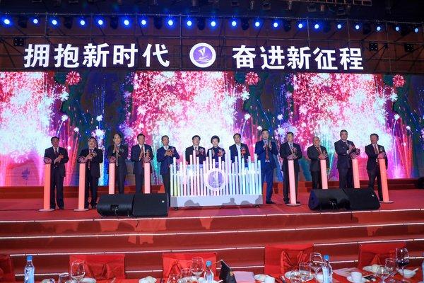 广东省晋江商会第七届理监事就职典礼在深圳会展中心隆重举行