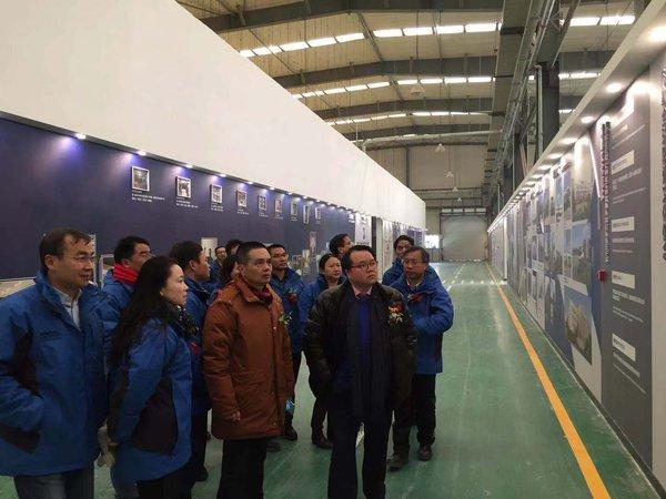 科勒厨卫集团全球总裁阮家明先生参观工厂