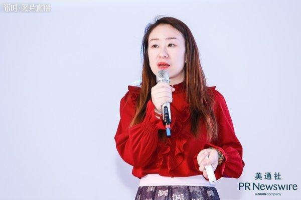 美通社中国媒体业务总监 赵莎