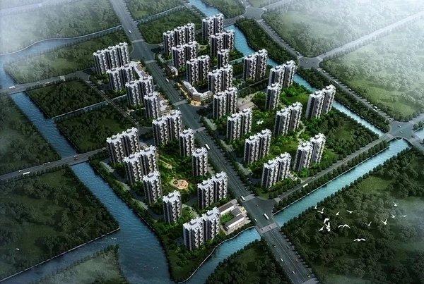 上海市新年首拍住宅地块花落中建八局东孚公司
